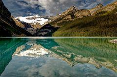 ... am Lake Louise ...