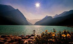 am Lake Louise
