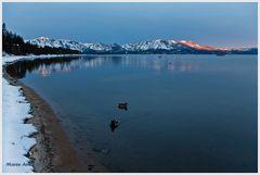 Am Lake Tahoe