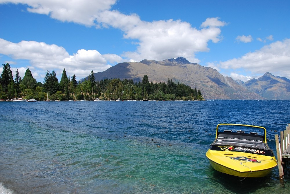 Am Lake Wakatipu - Queenstown - Neuseeland