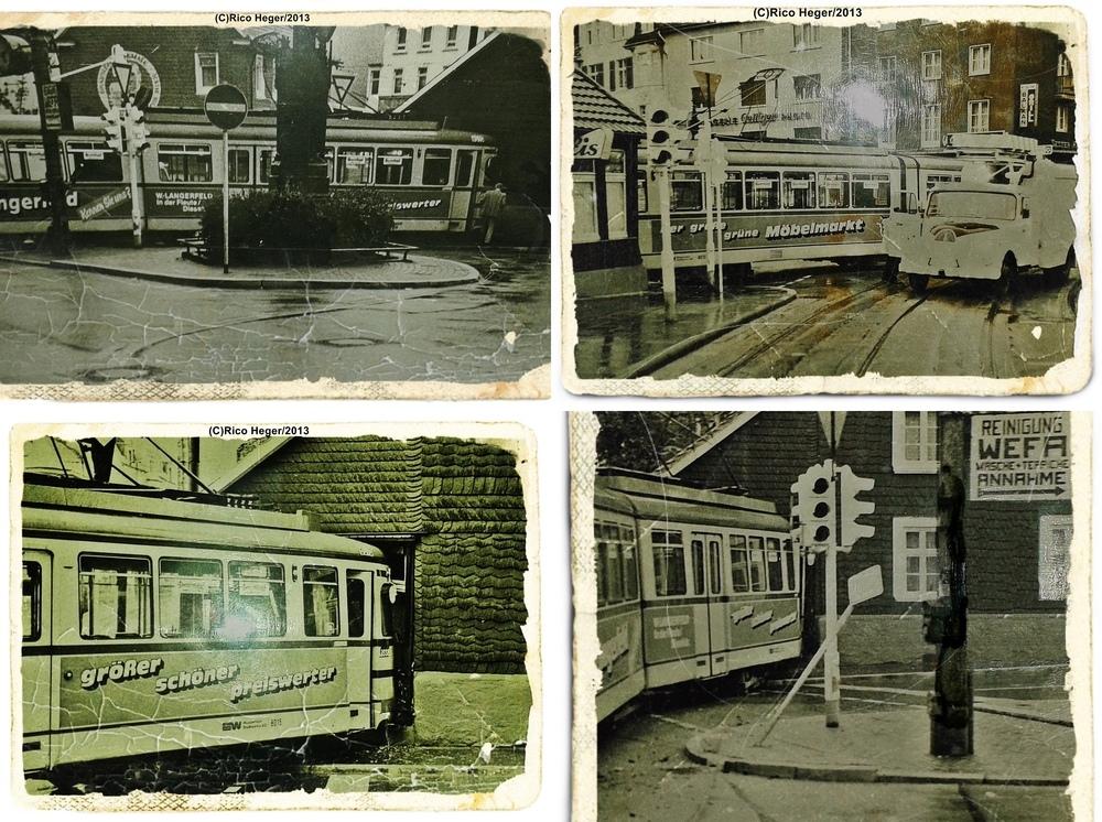 am langerfelder markt in wuppertal foto bild bus nahverkehr historischer nahverkehr. Black Bedroom Furniture Sets. Home Design Ideas
