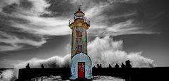 Am Leuchtturm von Porto...
