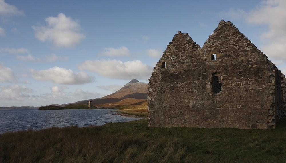 am Loch Assynt ...