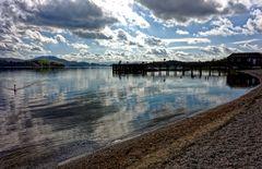 ... am Loch Lomond ...