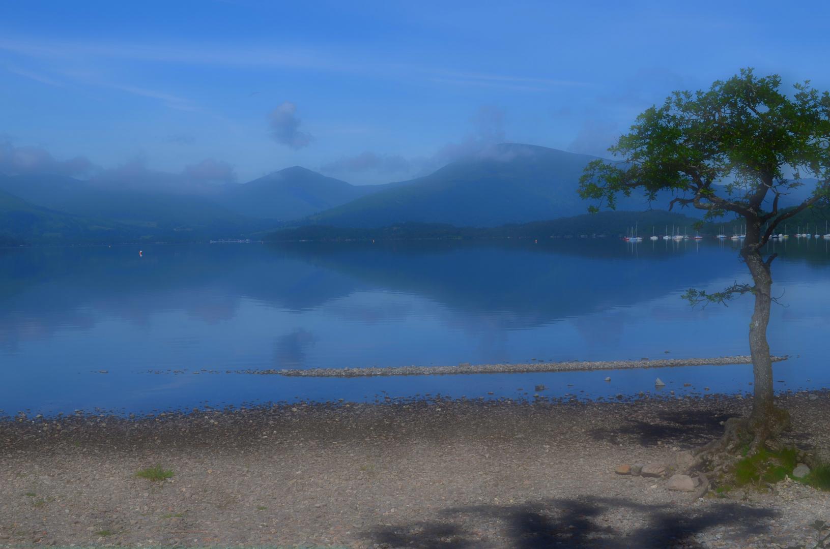 Am Loch Lomond - West Highland Way- Schottland