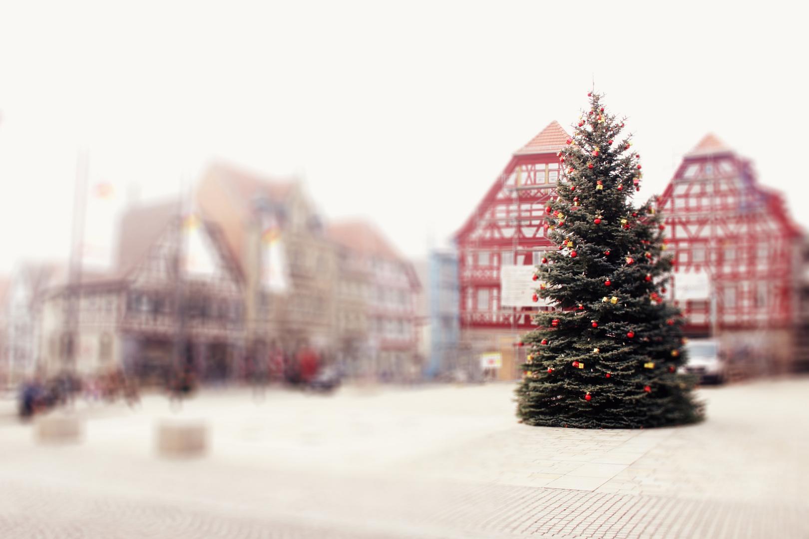 Am Marktplatz...
