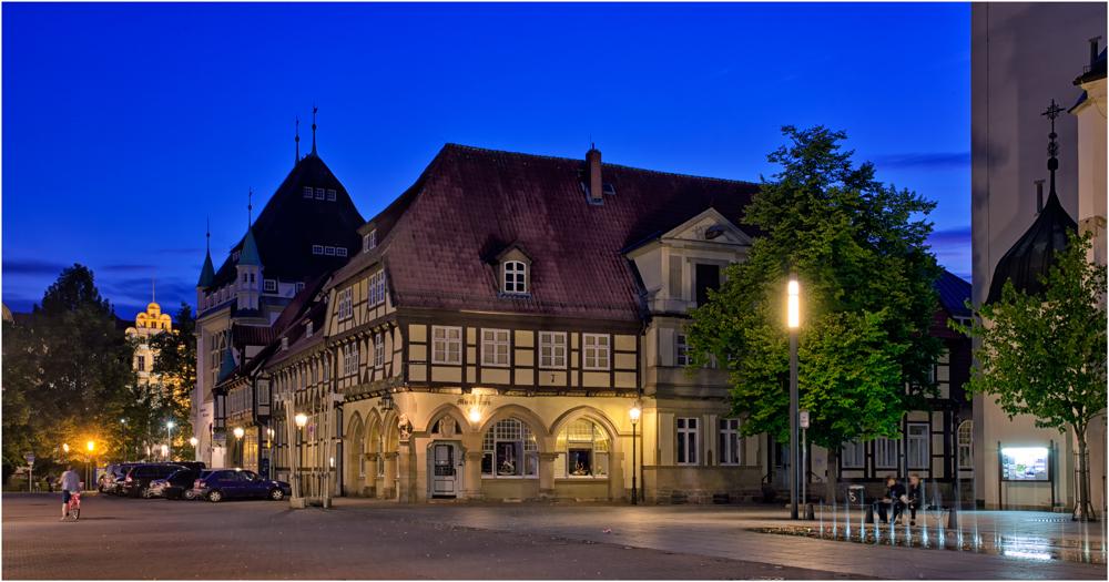 Am Marktplatz in Celle