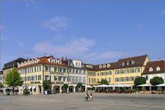 Am Marktplatz in Ludwigsburg (1)