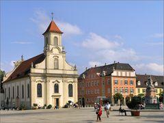 Am Marktplatz in Ludwigsburg (2)