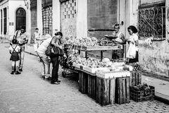Am Marktstand...