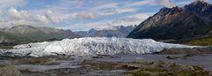 Am Matanuska-Gletscher