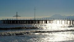 Am Meer im Februar