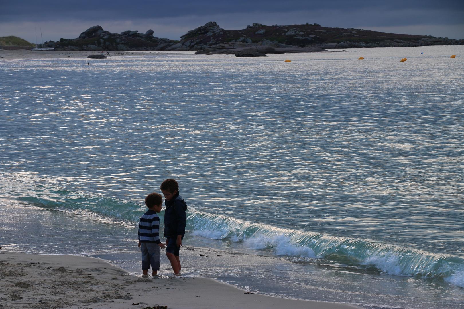 Am Meer in der Normandie
