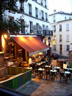 Am Montmartre abends