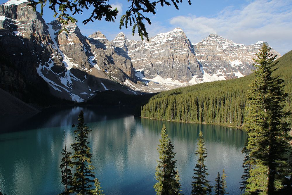 Am Moraine Lake / Banff National Park...