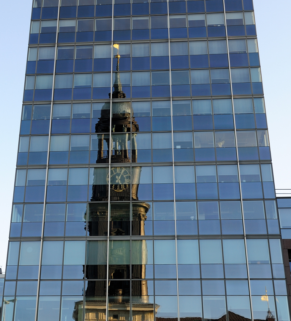 Am Morgen in Hamburg