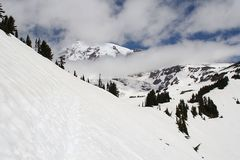 Am Mt. Rainier....