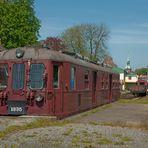 Am Museumshafen von Kappeln - Schlei - ne alte Bahn von 1953
