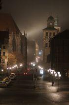 Am Nürnberger Hauptmark (Nebel)
