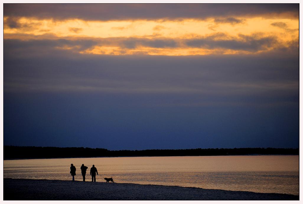 Am Ostseestrand bei Prerow