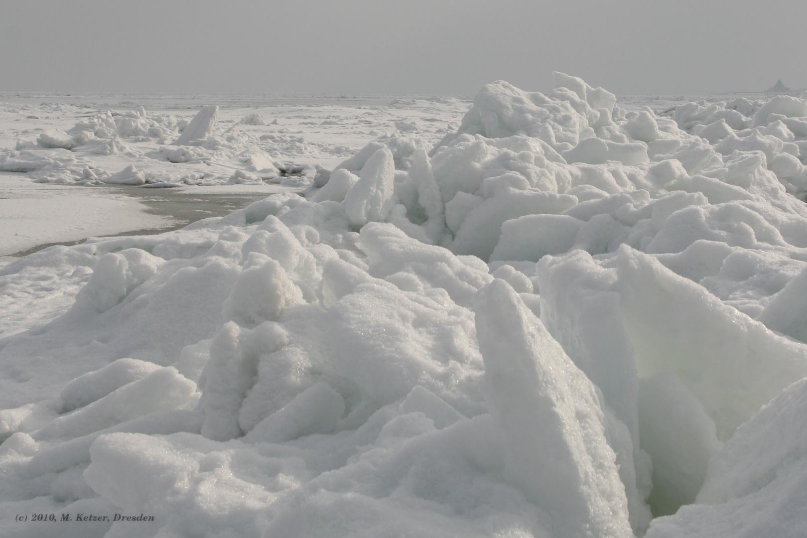 Am Ostseestrand im Februar