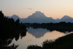 Am Oxbow Bend des Snake River...
