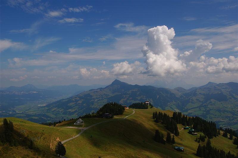 Am Pegelberg über Kitzbühel