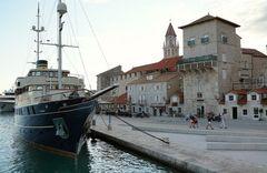 Am Pier von Trogir