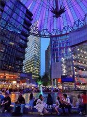 Am Potsdamer Platz ...