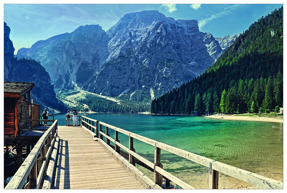 ~ Am Pragser Wildsee ~
