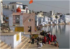 Am Pushkar-See