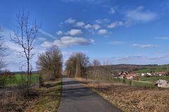 am Radweg...