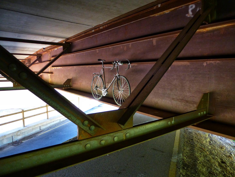 am Radweg Bozen - Rovereto
