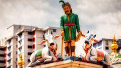 Am Rand von China Town(II)