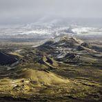 Am Rande der Krater