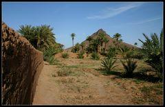 Am Rande der Palmerie..., Zagora, Marokko