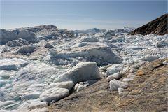 Am Rande des Eisfjordes...