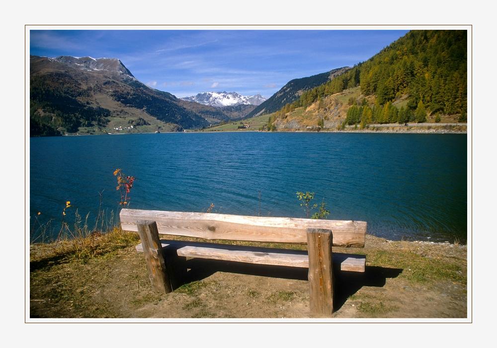 Am Reschen-See