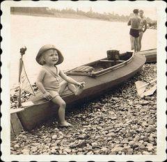 am Rhein 1952