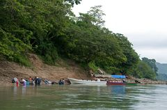 Am Rio Usumacinta