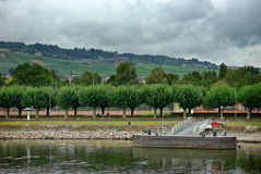 Am Rüdesheimer Rheinufer