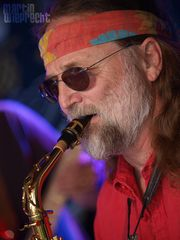Am Saxophon: Thomas (close-up)