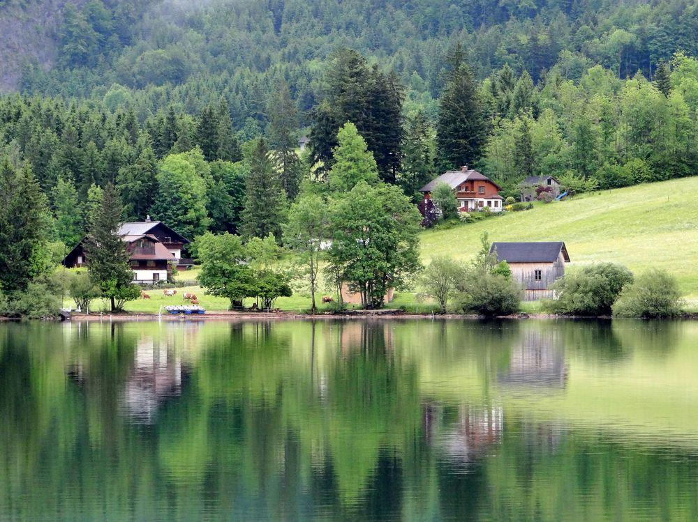 am schönen grünen Grundlsee
