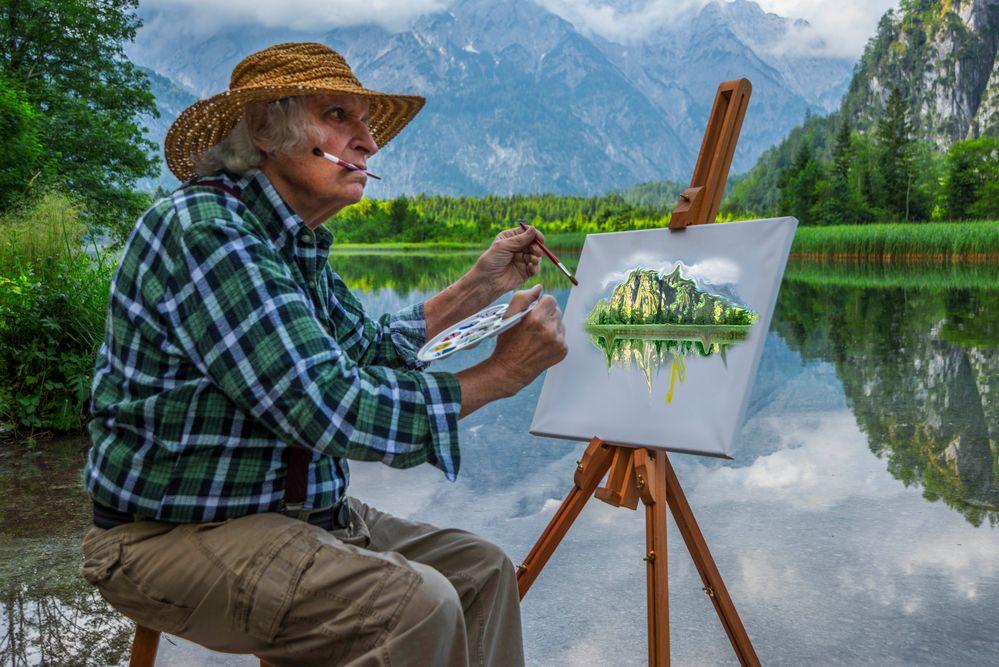 Am See Foto & Bild | erwachsene, menschen in der freizeit