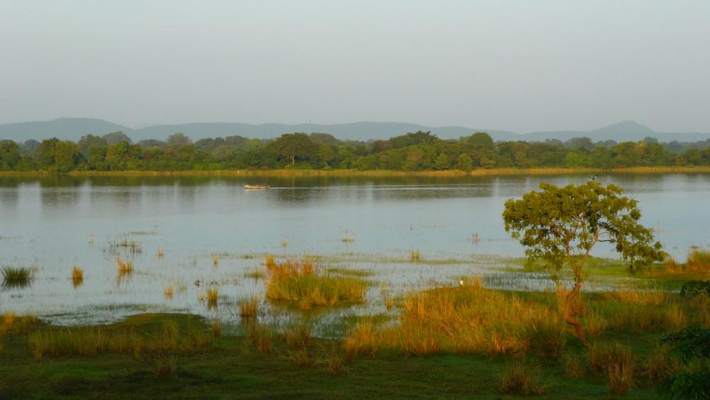 Am See in Polonaruwa