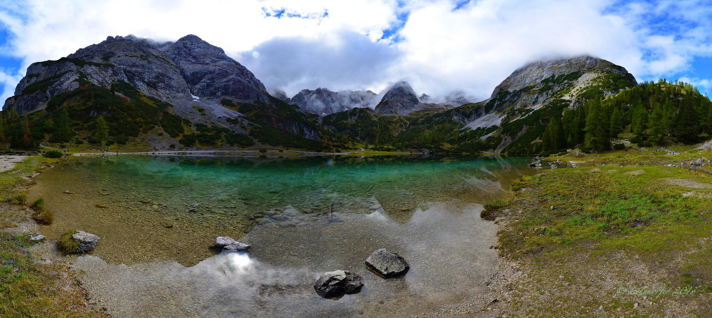 Am Seebensee in Tirol