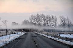 Am Sonnabendmorgen hingen die Wolken sehr , sehr tief