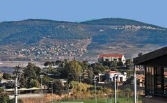 am Stadtrand von Nazareth Illit