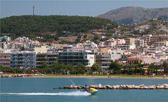 Am Stadtstrand von Rethymnon