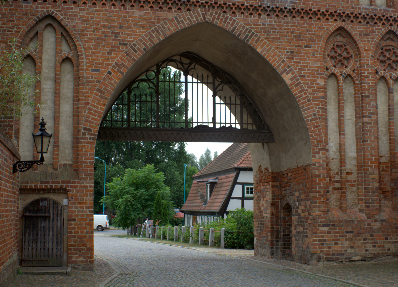 am Stargarder Tor in Neubrandenburg
